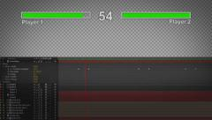 Classic Video Game Health Bar - stock after effects