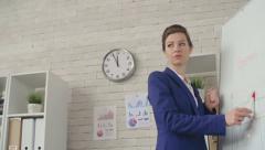 Female Leader Stock Footage