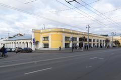 VLADIMIR, RUSSIA -05.11.2015. A Shopping Arcade in the Bolshaya Moskovskaya S - stock photo