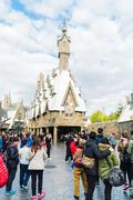 Osaka, Japan - December 1:  The theme park attractions based on the film indu - stock photo