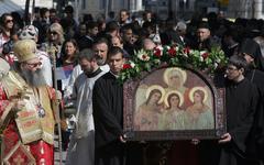 Bulgaria Day of Sofia Celebrations - stock photo