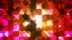 Broadcast Hi-Tech Diamond Shifting Patterns, Multi Color, Abstract, Loopable, HD Stock Footage