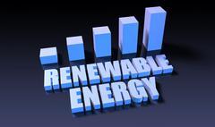 Renewable energy Stock Illustration