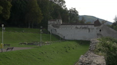 Weavers' Bastion, Brasov Stock Footage