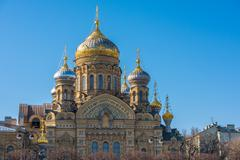 Church of the Dormition in Saint Petersburg, Russia - stock photo