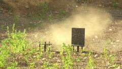 Practical shooting Stock Footage