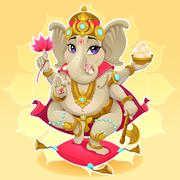 Ganesh Stock Illustration