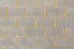 Cement Block Wall - stock photo