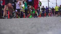 California  International Marathon Stock Footage