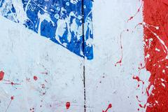 Backgrounds collection - Blots and stains of paint Stock Photos