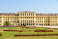 Stock Photo of Schonbrunn Palace In Vienna