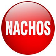 Stock Illustration of nachos red round gel isolated push button