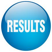 Stock Illustration of results blue round gel isolated push button