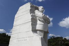 Stock Photo of Martin Luther King Jr Memorial The Washington Mall Washington DC United States
