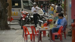 Stock Video Footage of HO CHI MINH / SAIGON, VIETNAM - 2015: Scene asia people asian city lifestyle