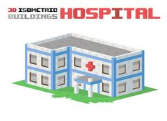 Hospital building vector illustration Piirros