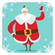 Santa Claus vector illustration - stock illustration