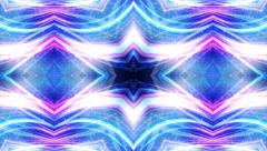 Kaleidoscope Disco Dance Lights Background, Loop, 4k Stock Footage