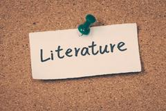Literature Stock Photos