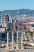 Landscape from Barcelona (Spain) - stock photo
