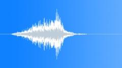 Shut swish blow - sound effect