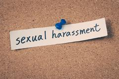 Sexual harassment Stock Photos