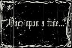 Silent Movie Frame Once Upon A Time Piirros