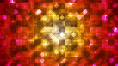 Twinkling Hi-Tech Cubic Diamond Light Patterns 13 - stock footage