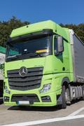 The Mercedes-Benz Actros Stock Photos