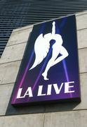 L.A. Live Marquee and Emblem Kuvituskuvat