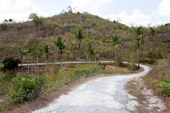 Roand on Nusa Penida Island - stock photo