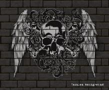 Decorative art background Stock Illustration