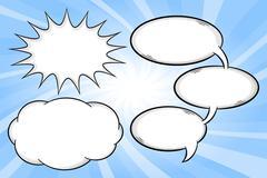 speech bubbles - stock illustration