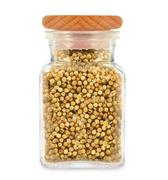 Coriander in a jar Stock Photos