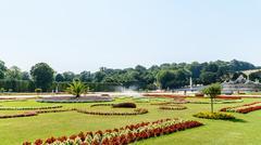 Schonbrunn Palace Garden - stock photo