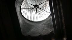 Factory ventilation fan. Stock Footage