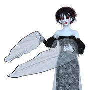 Evil vampire Stock Illustration