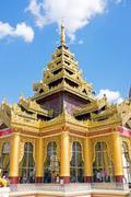 Stock Photo of Shwemawdaw Paya, The Golden God Temple , Bago Myanmar