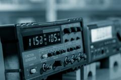 Electronic measuring instruments Stock Photos