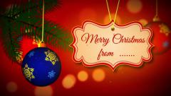 Stock After Effects of 4K, Full HD and HD Winter holidays merry christmas and happy new year V2
