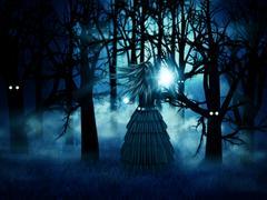 Halloween witch Stock Illustration