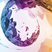 Abstract geometric illustration - stock illustration