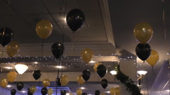 Party decorations Stock Footage