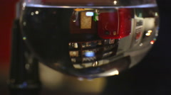 Cafe. Coffee brewing 4. Filter Preparation. Stock Footage