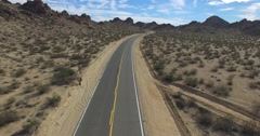 Aerial Road - stock footage