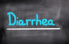Diarrhea Concept Stock Illustration
