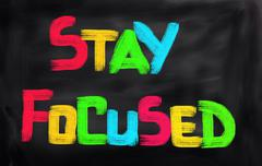 Stock Illustration of Stay Focused Concept