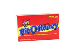 Box of Bit-O-Honey Candy Stock Photos