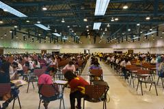 State Railway of Thailand appoint exams Stock Photos