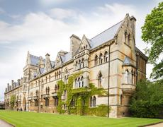 Christ Church College, Oxford, Oxfordshire UK Stock Photos